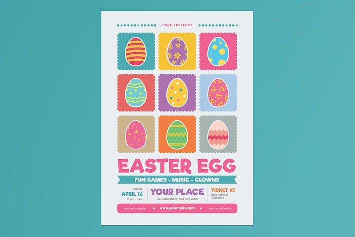 Thumbnail for dépliant ant de chasse aux œufs de Pâques