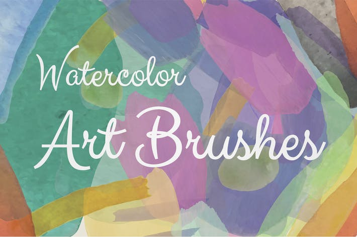 Thumbnail for Watercolor Illustrator Art Brushes