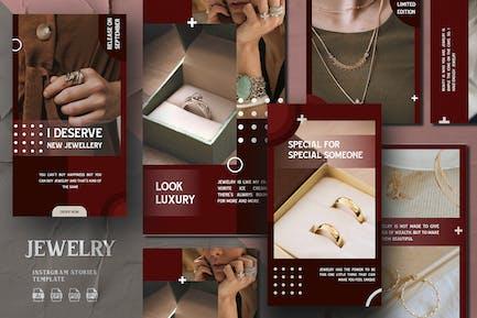 Modern Shape Jewelry - Instagram Stories