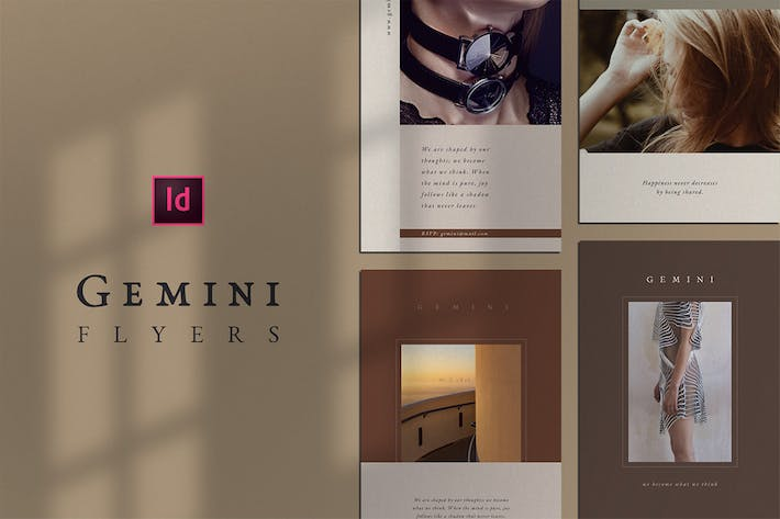 Thumbnail for Gemini Flyer Template