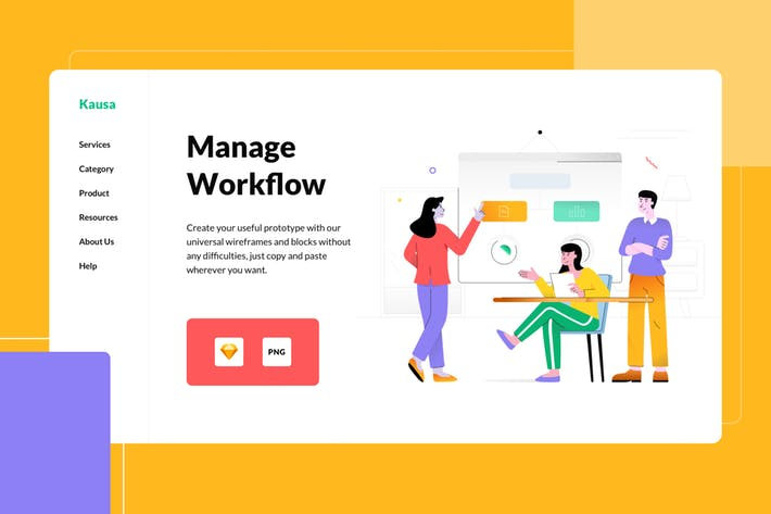 Thumbnail for Manage Workflow Illustration