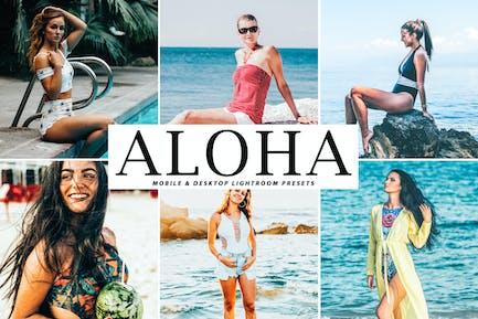 Aloha Mobile & Desktop Lightroom Presets