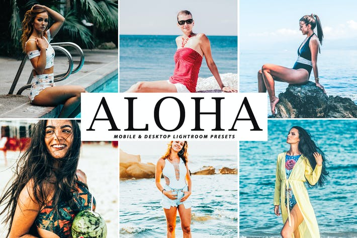 Thumbnail for Aloha Mobile & Desktop Lightroom Presets