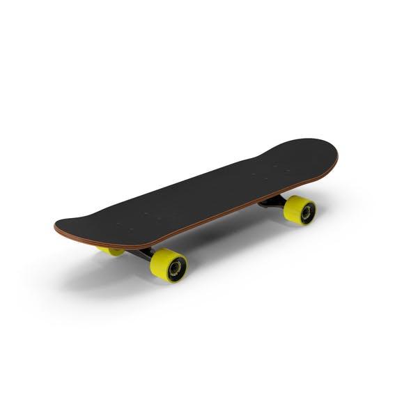 Klassisches Skateboard