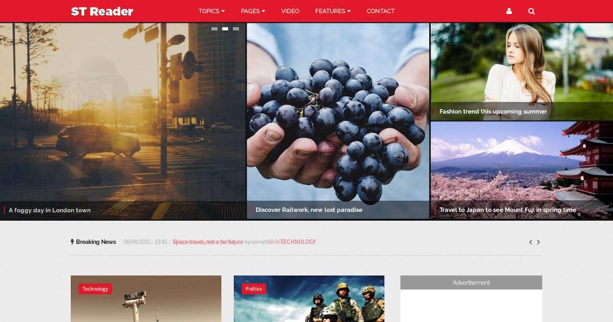 Download Reader - News & Magazine Drupal Theme by symphonythemes