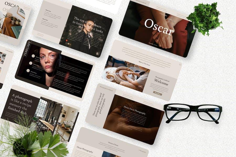 Oscar - Photography Googleslide Template