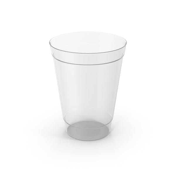 Plastic Cup Empty