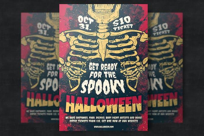 halloween party flyer template by eightonesixstudios on envato elements