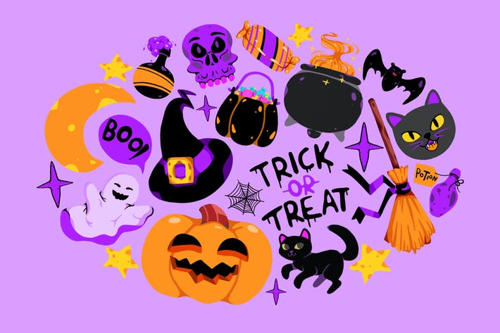 Thumbnail for HalloThema en-Clipart