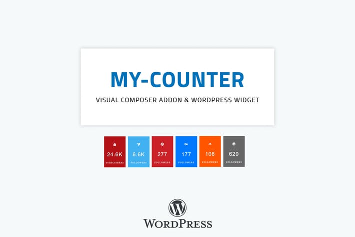 MY-Counter | Visual Composer Addon & Widget