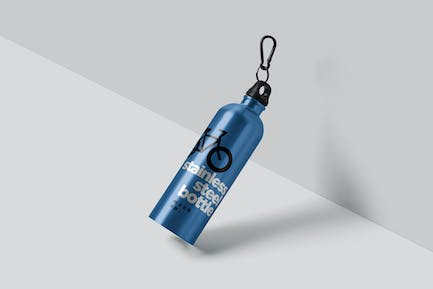 Thermos Flask Bottle Mockups