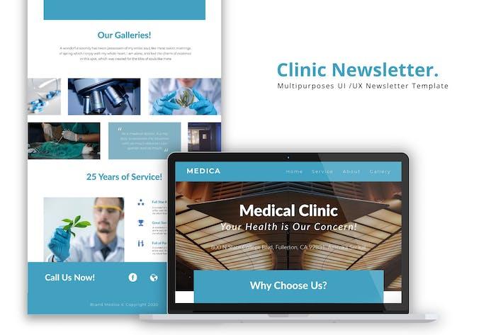 Thumbnail for Clinic Newsletter