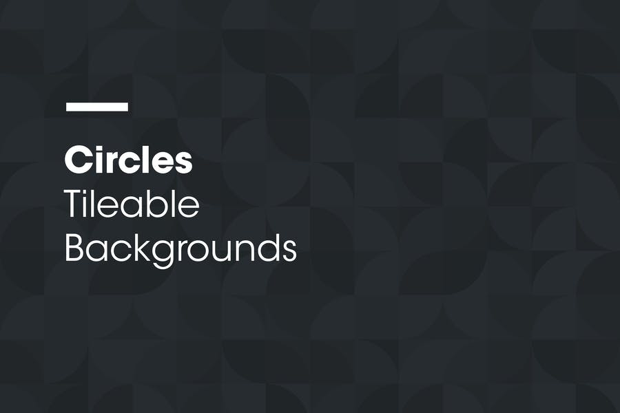 Circles | Tileable Backgrounds