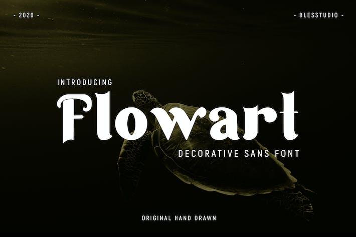 Thumbnail for Flowart - Font
