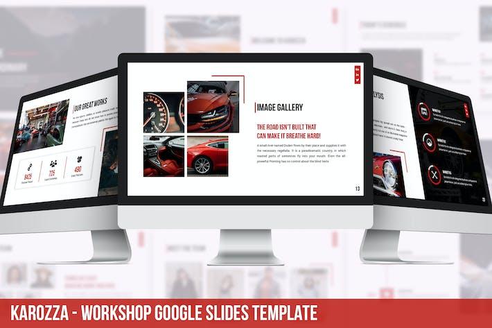 Thumbnail for Karozza - Workshop Google Slides Template