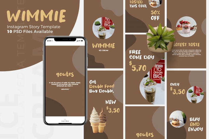 Thumbnail for Wimmie - Instagram Story Template