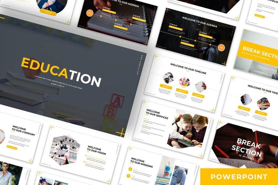 Education - Business Powerpoint Template