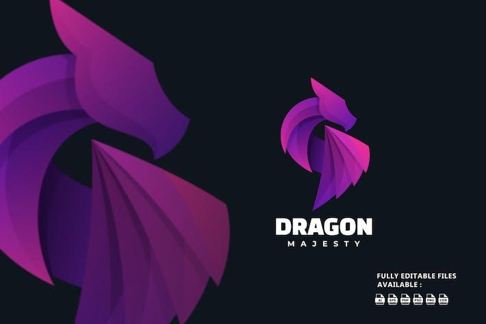 Dragon Gradient Logo