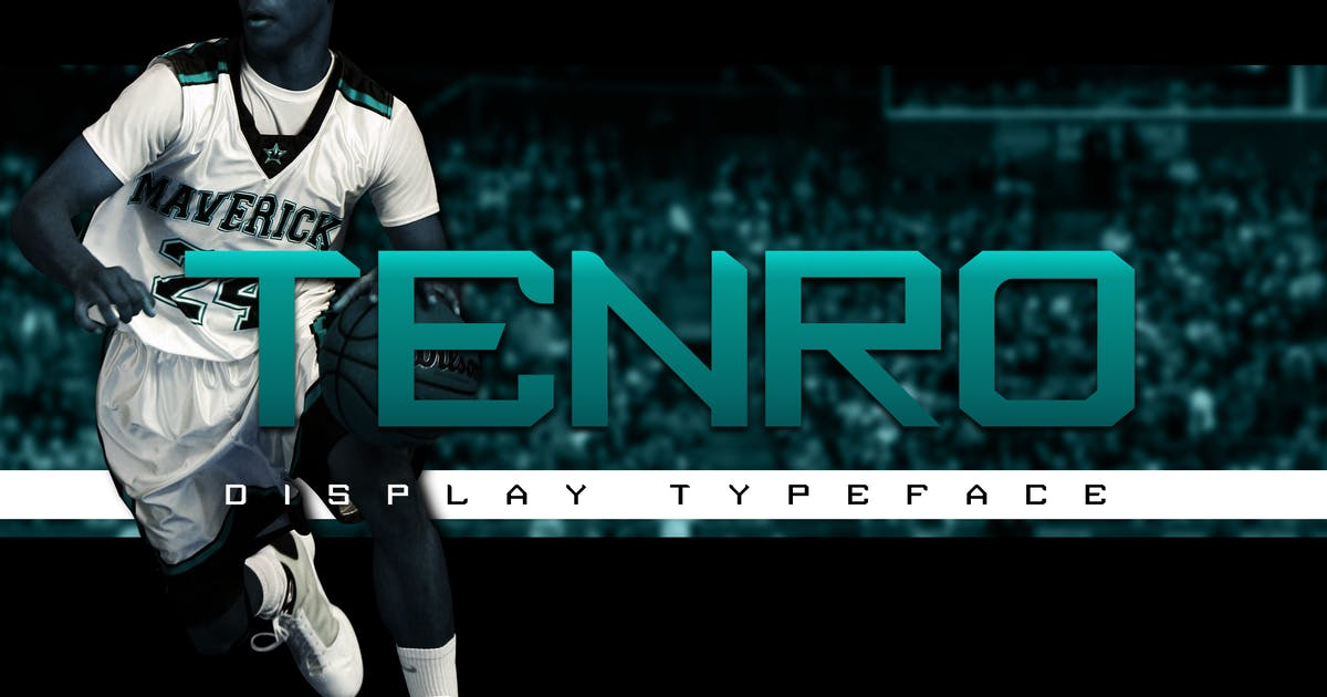 Download Tenro Display Font by ovozdigital