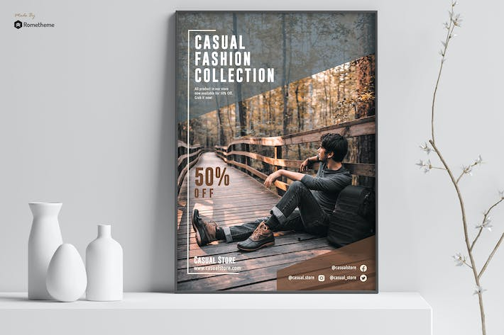 Thumbnail for Casual - Fashion Poster