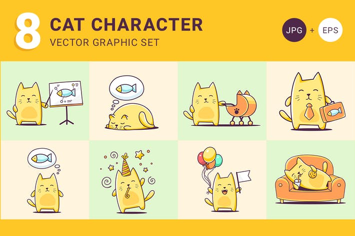 Thumbnail for Cat character