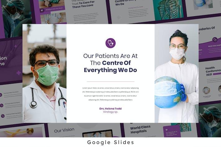 Thumbnail for Helena - Medical Theme Google Presentation