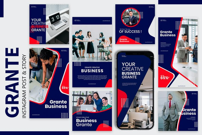 Thumbnail for Grante - Business Instagram Post & Story