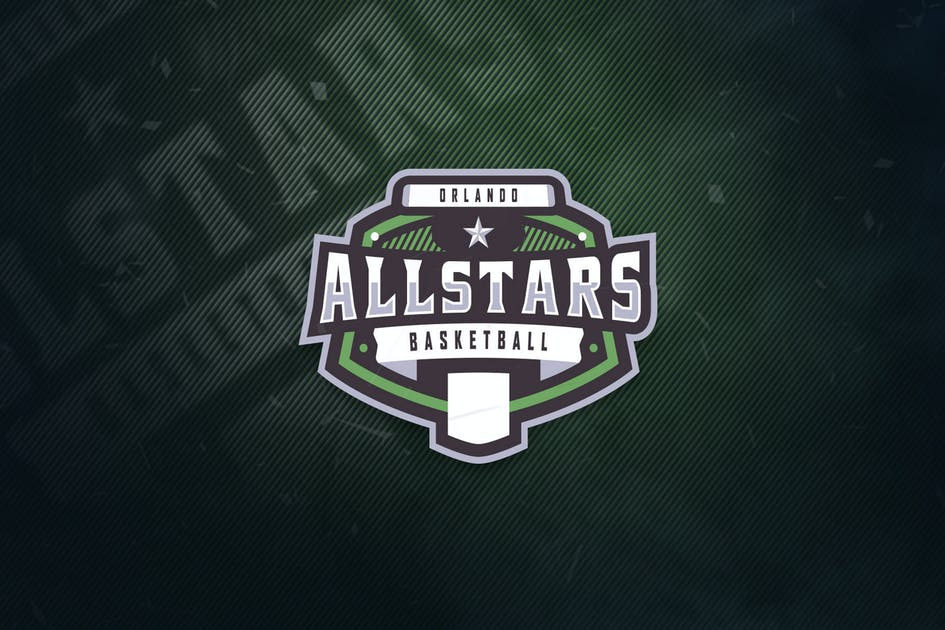 Download Orlando Allstars Basketball Sports Logo by ovozdigital