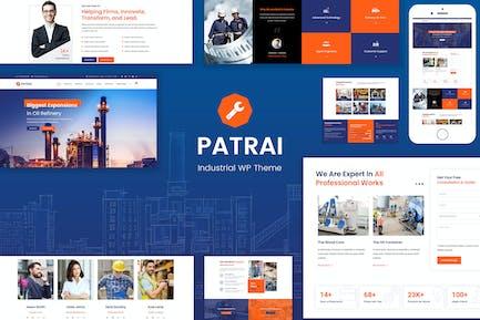 Patrai Industry - Industrial WordPress
