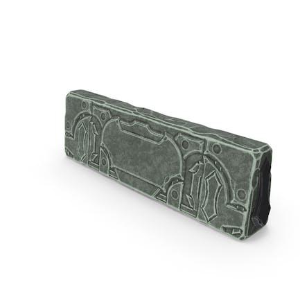 Stilisierte Steinmauer