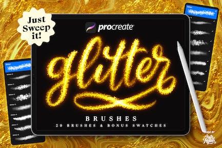 Procreate Glitter Brushes