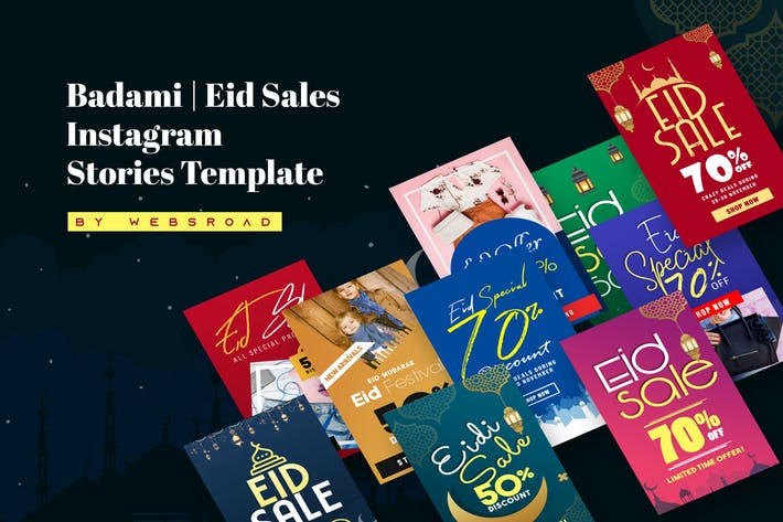Thumbnail for Badami | Eid Sales Instagram Stories Template
