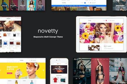 Novetty - Отзывчивый Shopify Тема