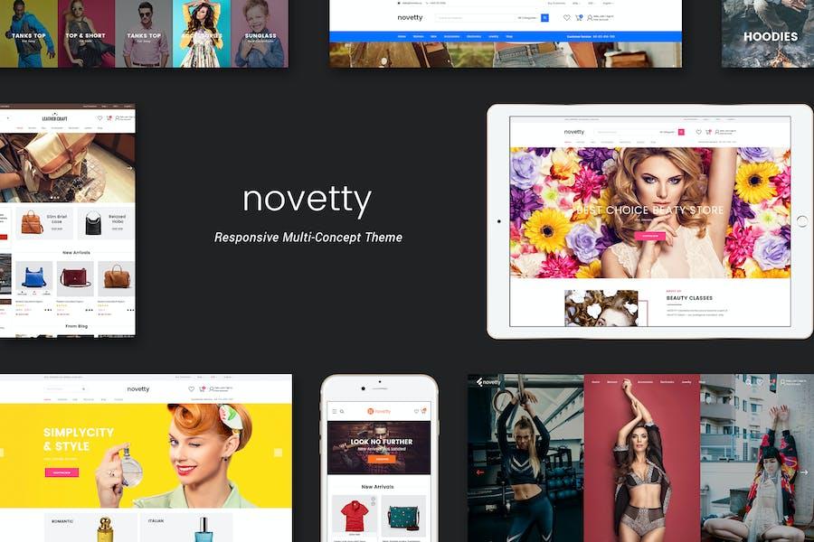 Novetty - Responsive Shopify Theme