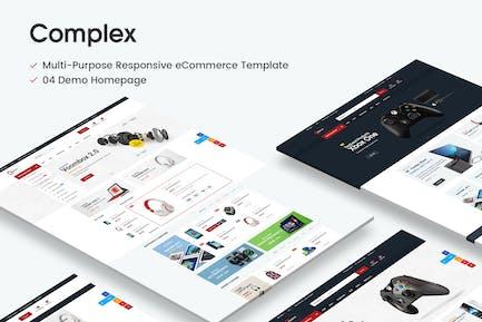 Complex Responsive Prestashop 1.6 & 1.7 Theme