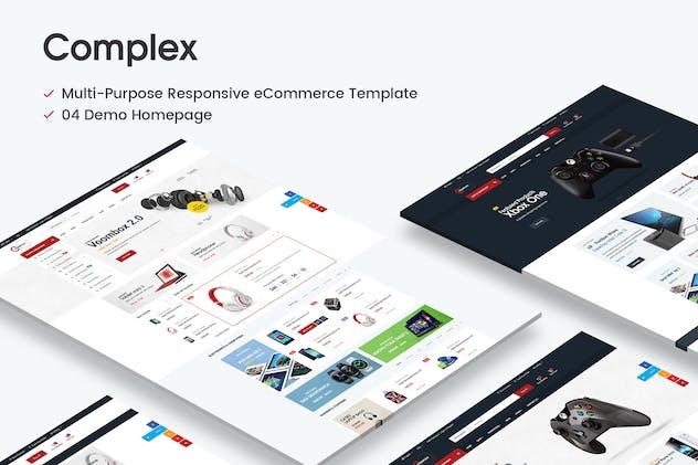 Complex Responsive Prestashop 1.6 & 1.7 Theme - product preview 0