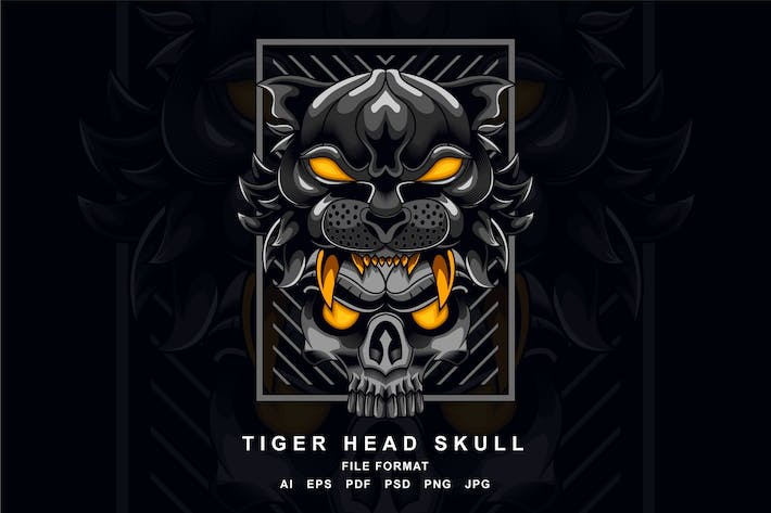 Thumbnail for Tiger Head Skull
