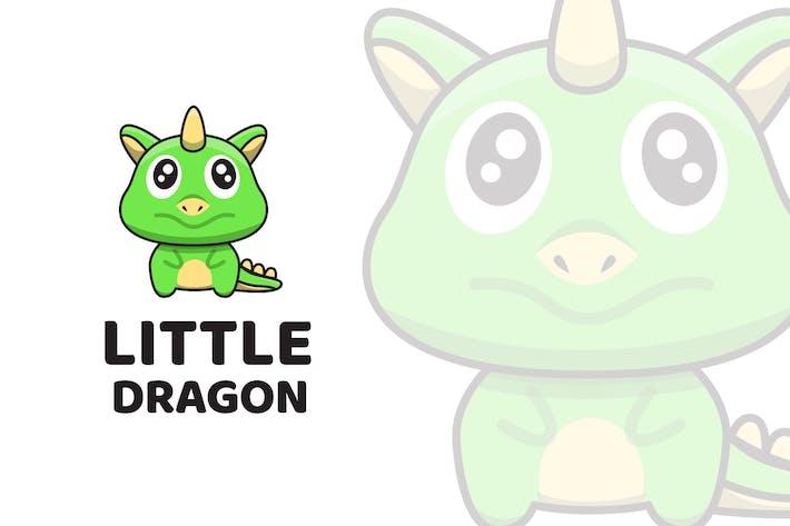 Thumbnail for Little Dragon Cute Logo Template