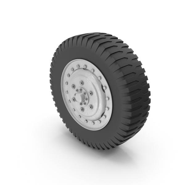 Колесо грузового автомобиля