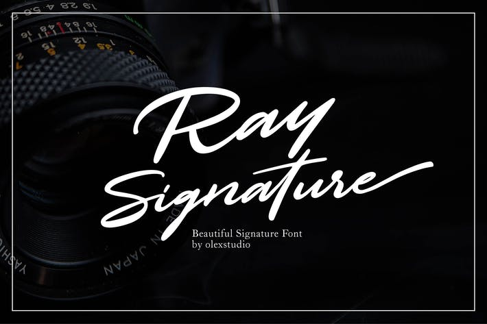 Cover Image For RAY SIGNATURE