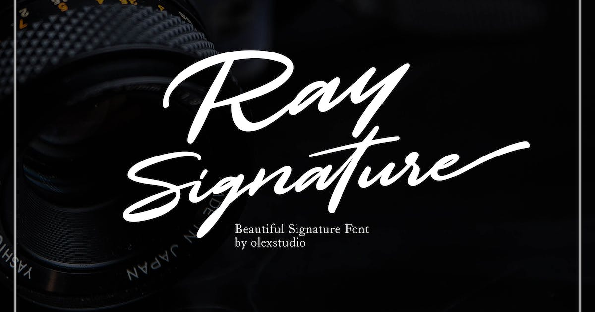 Download RAY SIGNATURE by Olexstudio