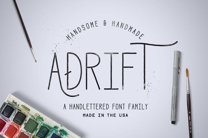 Thumbnail for Adrift Font
