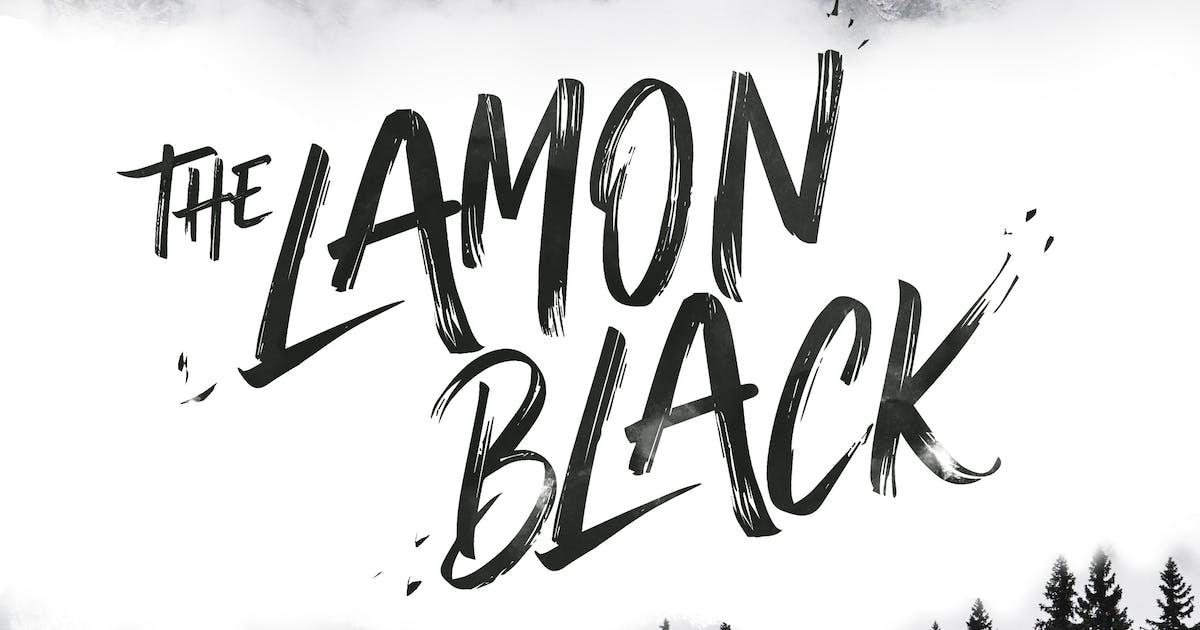 Download The Lamon Black - Brush Font by Slidehack