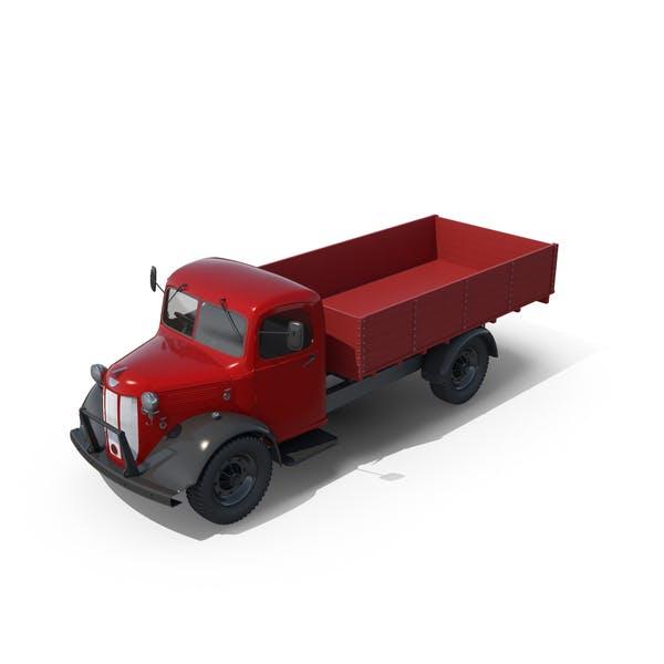 Vintage Truck Unloaded