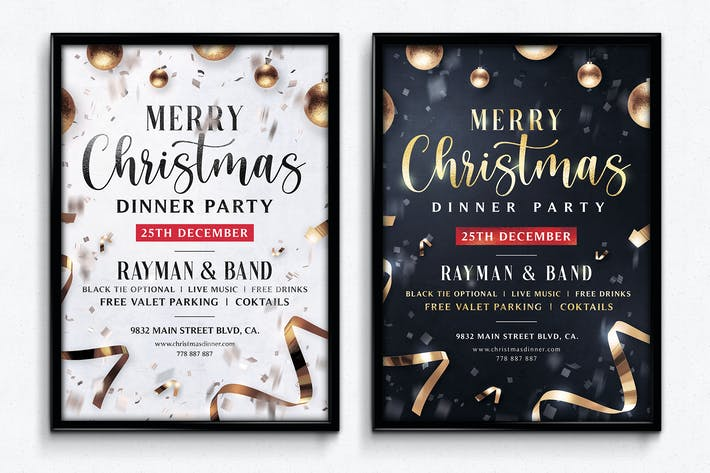 Thumbnail for Christmas Flyer Template Vol.4