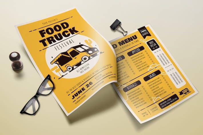 Thumbnail for Food Truck Festival – Menu Template