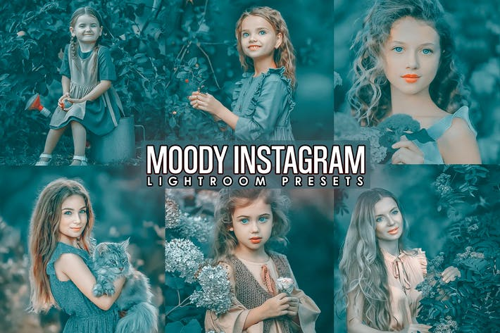 Thumbnail for Moody INSTA Presets ( Desktop and Mobilen )