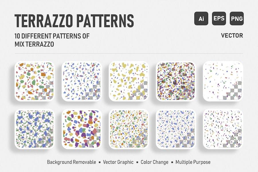 Seamless Italian Terrazzo - Color Mix Pack