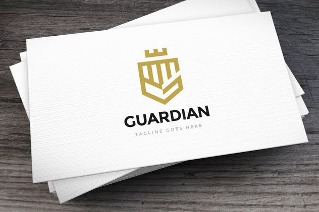 Guardian Logo Template - product preview 2