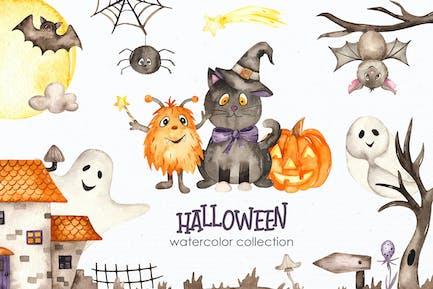 Watercolor Halloween